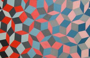 Penrose Tiling Detail