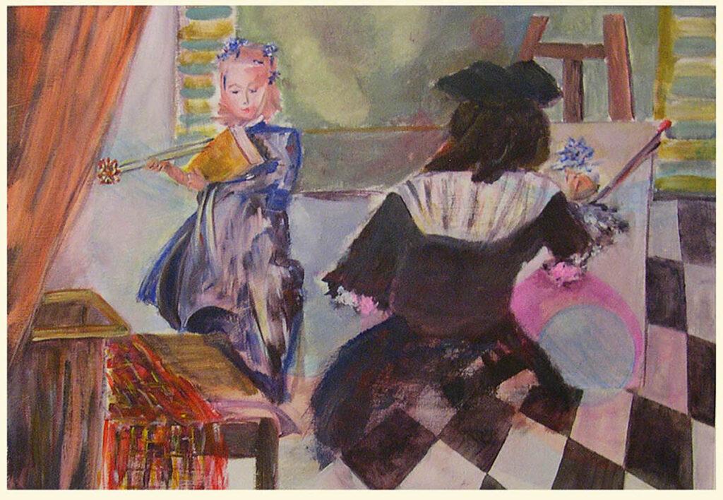 Homage to Vermeer's Art of Painting