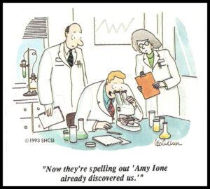 Cartoon Amy Ione